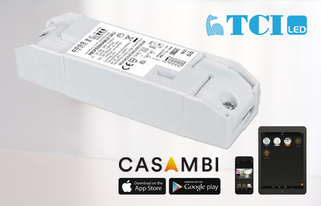 NEU | TCI Smart Home LED-Konverter mit CASAMBI App Steuerung